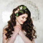 fryzura ślubna - loki na ślub