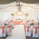 stół pary młodej na weselu